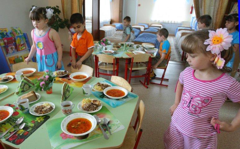 Питание в дошкольных учреждениях