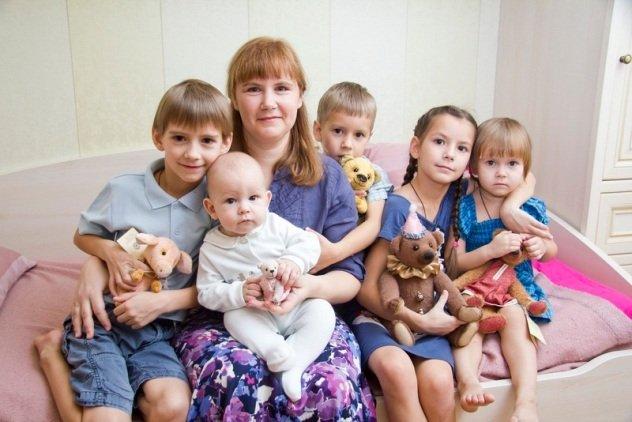 5 и более детей
