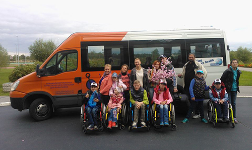 Дети инвалиды в транспорте