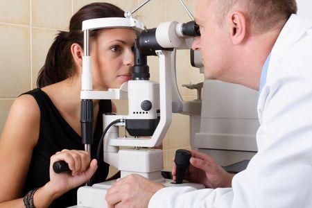 Осмотр офтальмолога