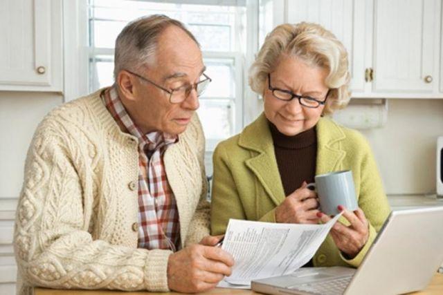 Плата пенсионерами налога