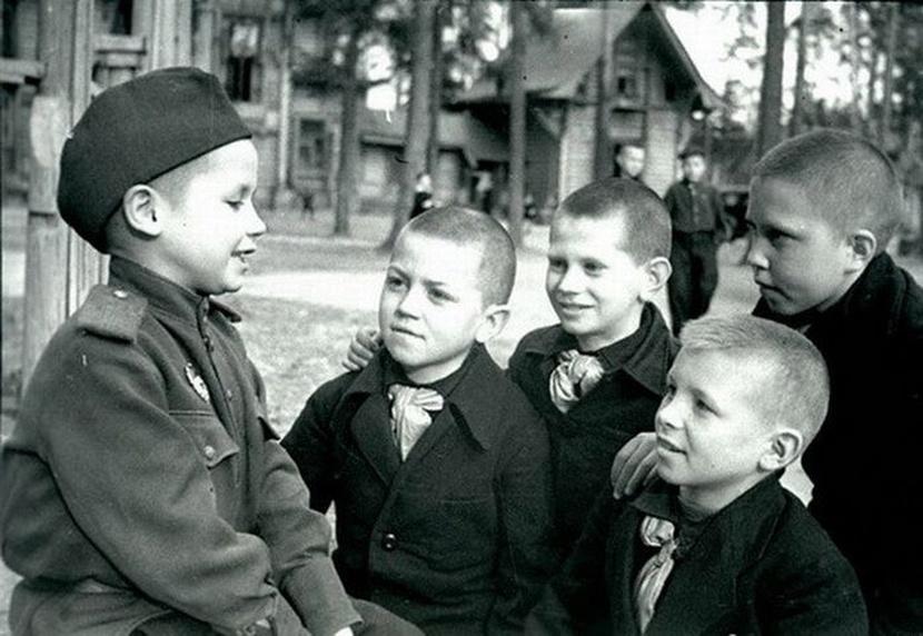дети войны фото