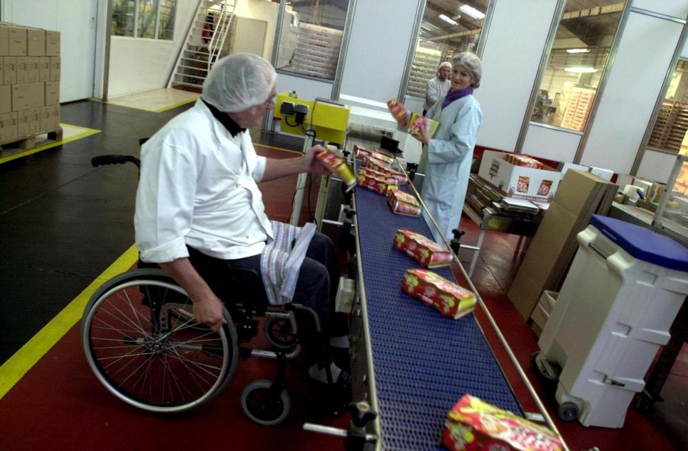 наняли на работу инвалида