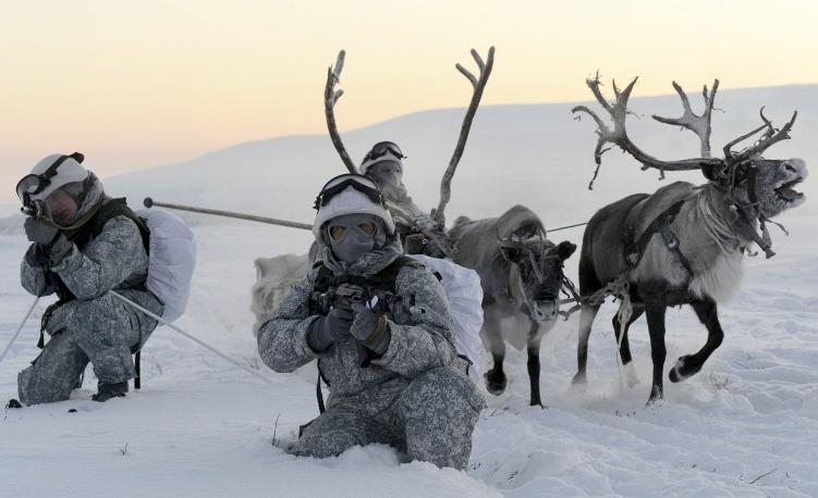 военнослужащий на крайнем севере