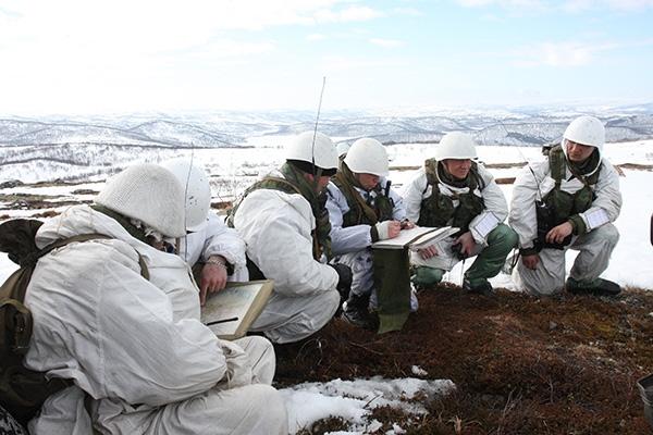 военные на севере
